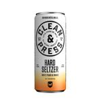 Clean & press peach mango blik 33 cl