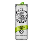 White claw hard seltzer natural lime blik 33 cl