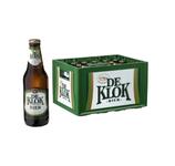 De klok bier fles 30 cl