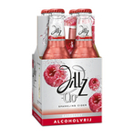 Jillz raspberry 0.0% fles 23 cl 6 x 4 pack