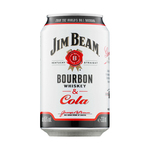 Jim beam & cola blik 33 cl