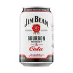 Jim beam & cola blik 33 cl