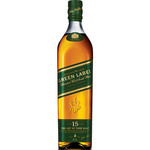 Johnnie Walker whisky green label 0.7 liter