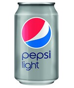 Pepsi Cola light blik 33 cl