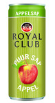 Royal club appelsap blik 25 cl