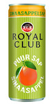 Royal club jus d'orange blik 25 cl