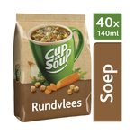 Unox Cup-a-Soup vending Rundvlees 40 x 140 ml x 4