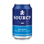 Sourcy naturelle (blauw) blik 33 cl