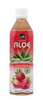 Tropical aloe vera aardbei pet 500 ml