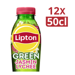 Lipton ice tea green yasmin lychee pet 50 cl