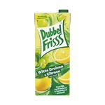 Dubbelfrisss witte druiven & citroen pak 1.5 liter