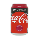 Coca cola zero cherry blik 33 cl