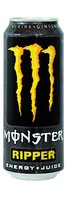 Monster energy ripper blik 0.5 liter geel