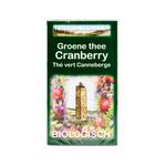 Terschellinger groene thee cranberry 10 x 20 zakjes