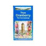 Terschellinger biologische thee cranberry 10 x 20 zakjes