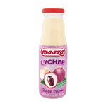Maaza lychee glazen flesje 33 cl