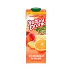 Dubbeldrank sinaasappel perzik pak 1 liter