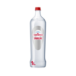 Chaudfontaine sparkling (rood) glas 1 liter