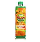 Raak vruchtensiroop sinaasappel 750 ml