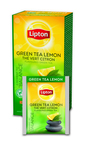 Lipton thee green tea lemon 25 zakjes
