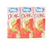 Inex yoghurtdrink aardbei 3x20cl a10