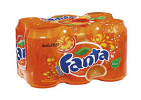 Fanta orange blik 33cl 6-pack a4