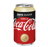 Coca cola zero sugar vanilla blik 33 cl