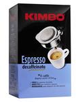 Kimbo espresso decaffeinato pods