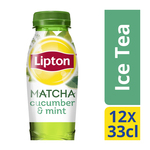Lipton Ice Tea Matcha Gr Cucumber Mint PET 12 x 33 cl