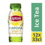 Lipton Ice Tea Matcha Gr Ginger Lemongrass PET 12 x 33 cl