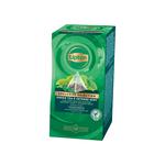 Lipton tea exclusive selection green tea & intense mint 25 builtjes