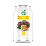 Iam super juice passion fruit blik 33 cl