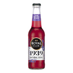 Royal club 1939 natural soda wild berries & mint flesje 275 ml
