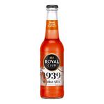 Royal club 1939 natural soda blood orange & ginger flesje 275 ml