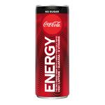 Coca-Cola energy no sugar blik 25 cl