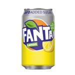 Fanta zero lemon blik 33 cl