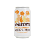 Whole earth orange & lemon bio blik 33 cl