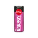 Coca-Cola energy cherry no sugar blik 25 cl