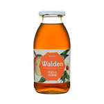 Walden icetea bio peach & jasmine flesje 25 cl