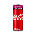 Coca-Cola zero cherry blik 250 ml 6x4-pack