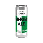 London ginger ale blik 25 cl