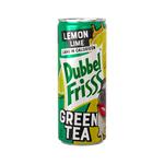 Dubbelfrisss ice tea lemon lime blik 25 cl