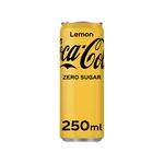 Coca-Cola zero lemon blik 250 ml