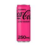 Coca-Cola zero raspberry blik 250 ml
