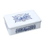 Wilhelmina pepermunt delftsblauw giftbox blik 500 gr