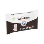 Wilhelmina zwart wit vegan rol 3-pack 3x39 gr