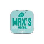 Max's organic menthol mints 35gr. a8