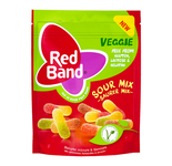 Red Band veggie sour mix zak 150 gr