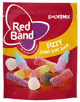 Red Band snoepmix fizzy zacht zoet zuur stazak 250 gr