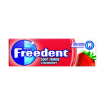 Freedent strawberry single 14 gr